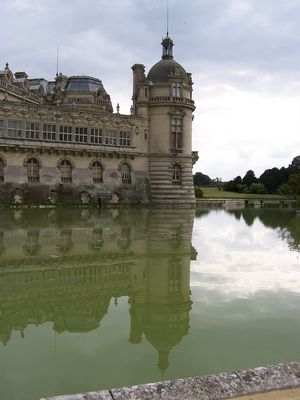 Chantilly en miroir