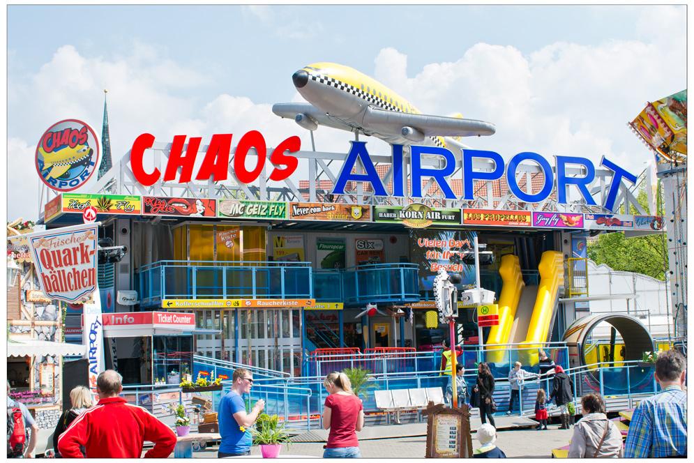 ChaosAirport - in Erfurt schon geöffnet!