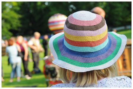 Chapeau coloré