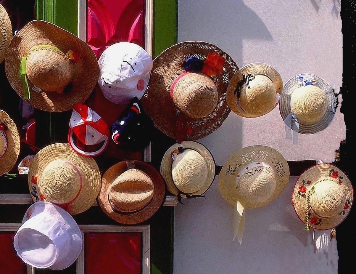 Chapeaux d'été Années 90 (Diapo numérisée)