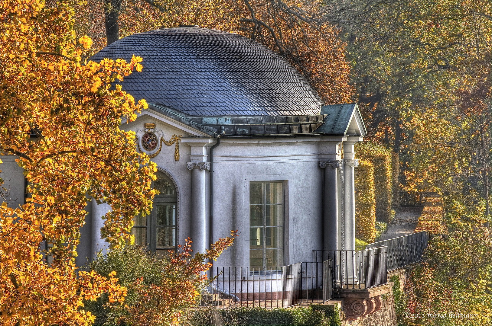 Chapel in the autumn #2