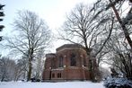 Chapel in the snow...