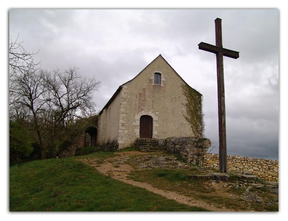 Chapelle à Angles sur l'Anglin