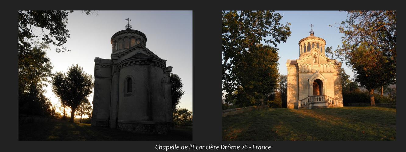 Chapelle de l'Ecancière - Drôme 26 - France