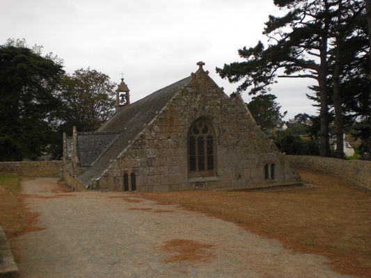 Chapelle de Port Blanc - Proche Perros Guirec - Bretagne - Septembre 2009