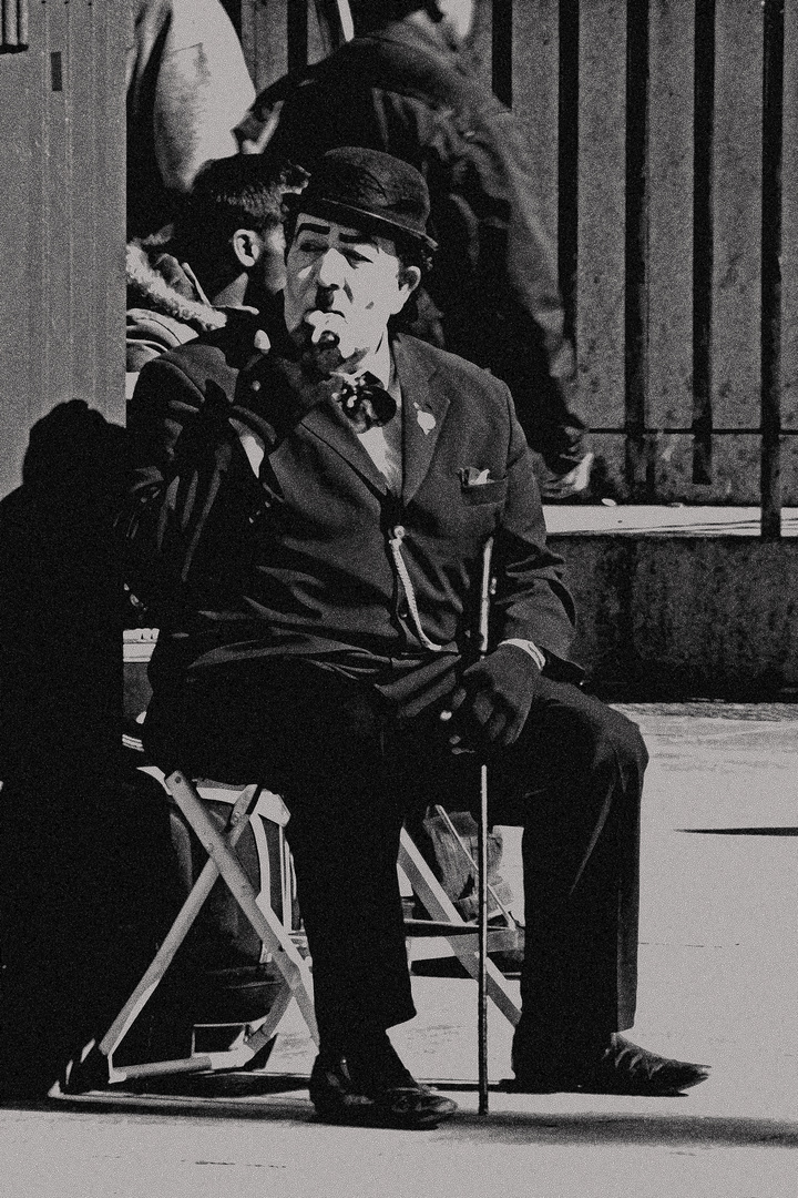 """...Chaplin??"""