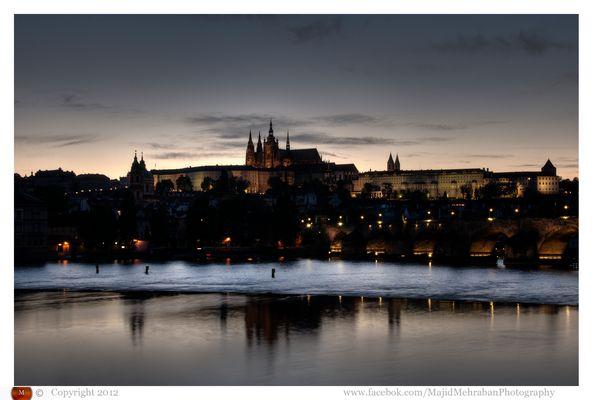 Charels Bridge and Castle of Prague 2