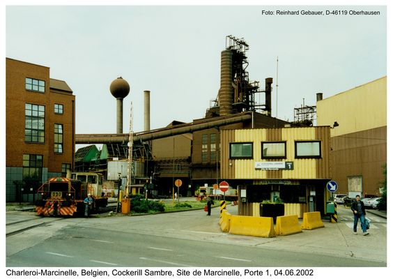 Charleroi-Marcinelle, Belgien, Cockerill Sambre, Site de Marcinelle, 2002