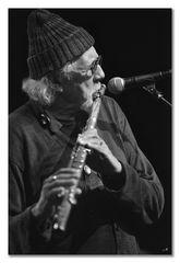 Charles Lloyd; flute - Charles Lloyd Quartet