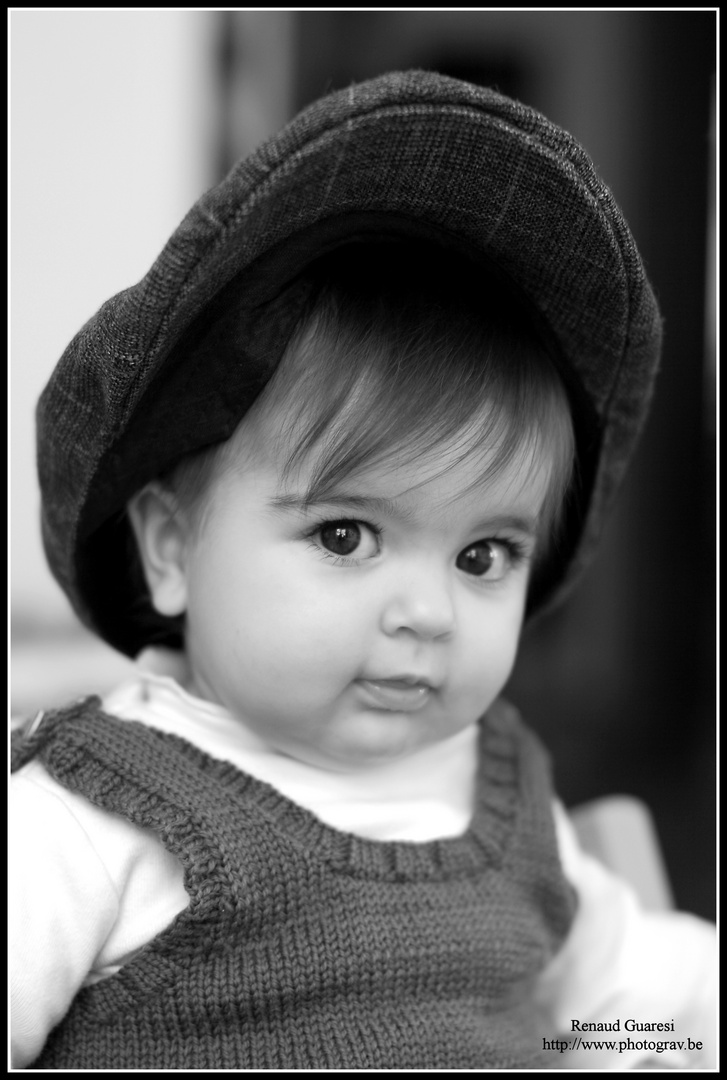 Charlie, ma fille, presque 11 mois...