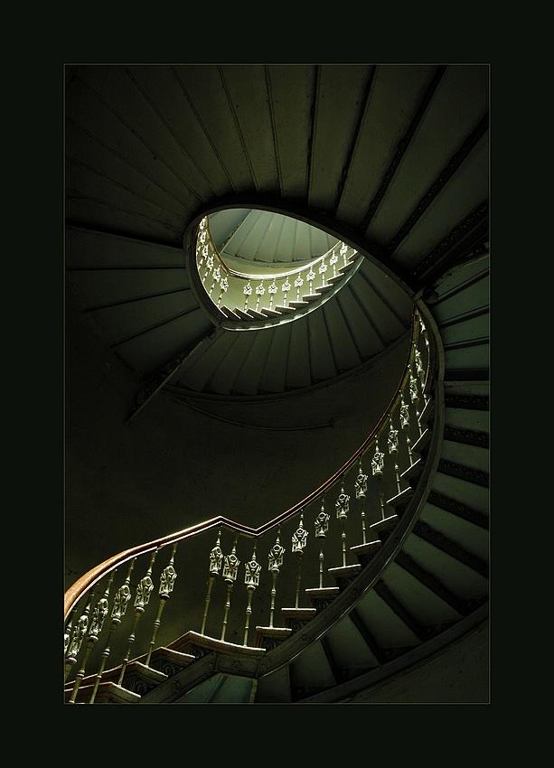 Charme der alten Treppe