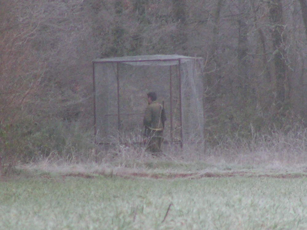 chasseur en cage !!!
