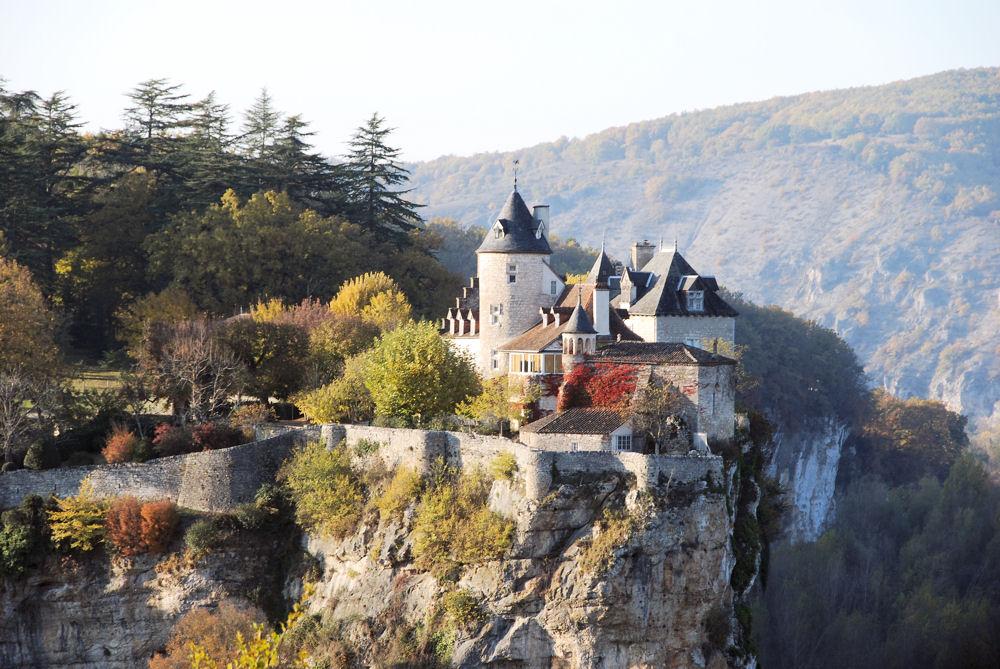 Chateau de Belcastel (46) zoom différent