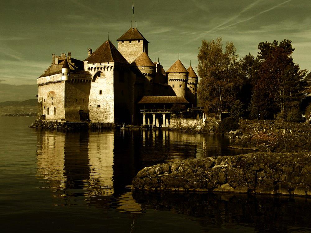 Chateau De Chillon lac Leman