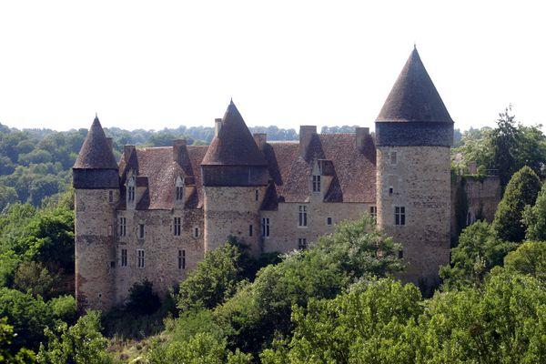 Chateau de culan (cher)