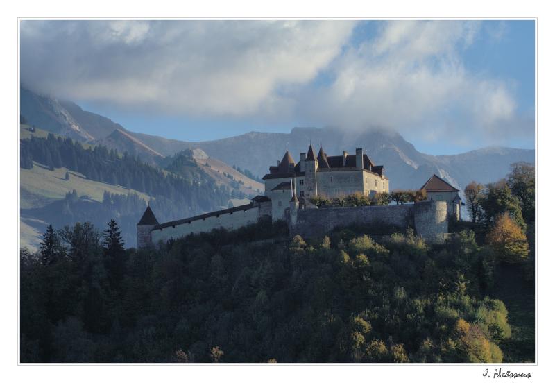 Chateau de Gruyère (Suisse)