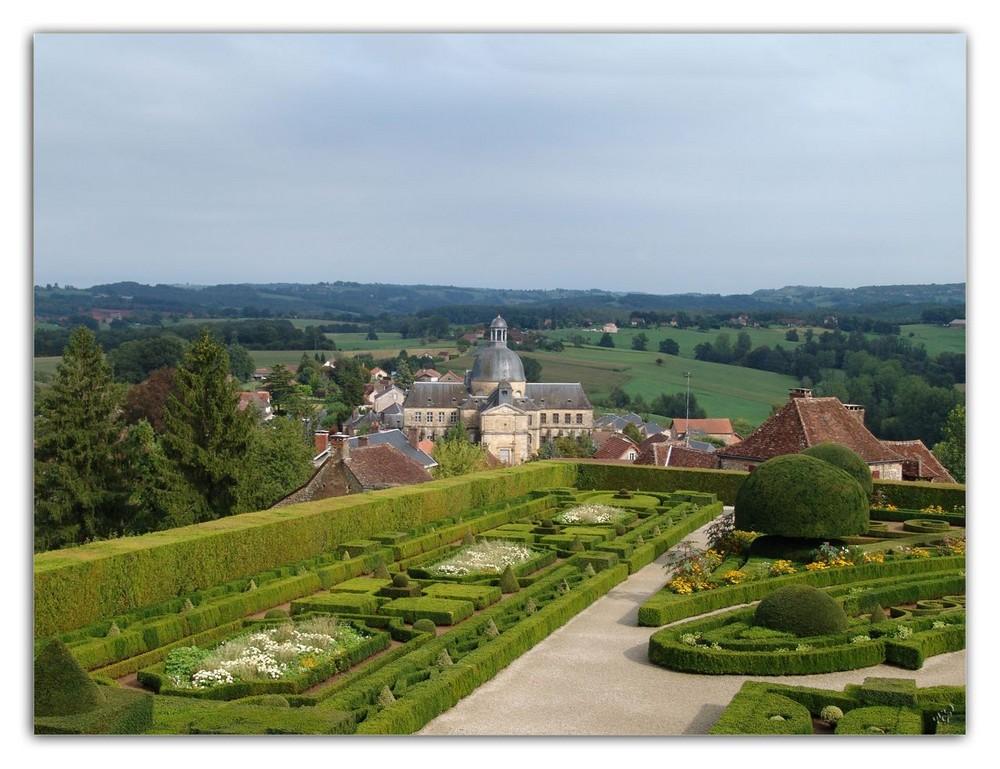 Chateau de Hautefort Les jardins