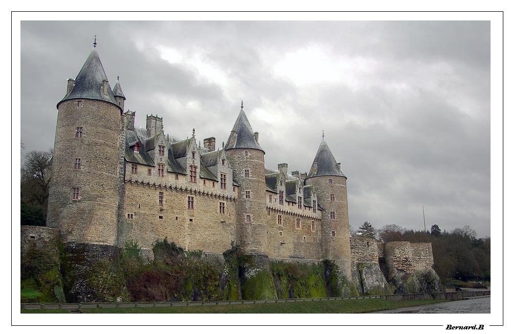Chateau de Josselin (Morbihan)