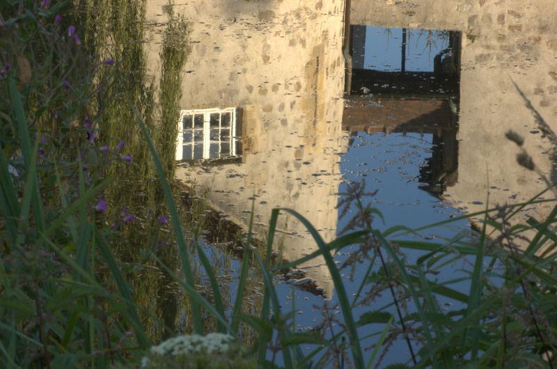 Chateau de la chasse en reflet
