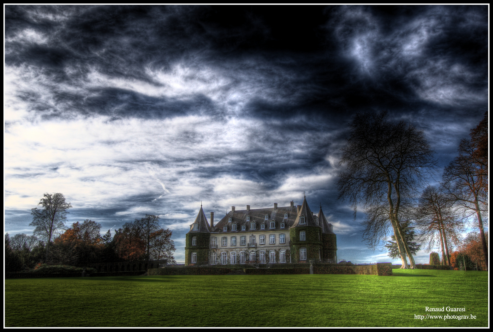 Chateau de la Hulpe - Couleur