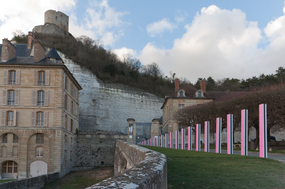 chateau de La Roche Guyon, Val d' Oise