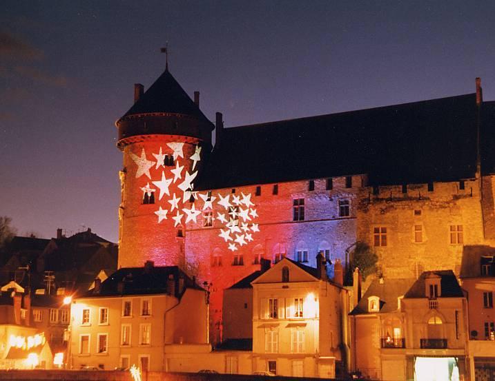 Chateau de Laval une nuit de Noël