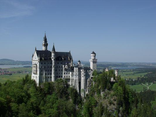 chateau de louis II de baviere