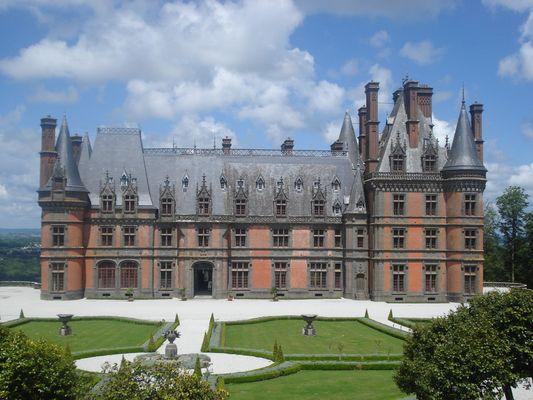 chateau de trevarez 29