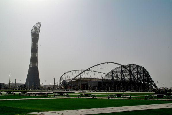 Chateau d'eau/Tour TV et Stadium de DOHA