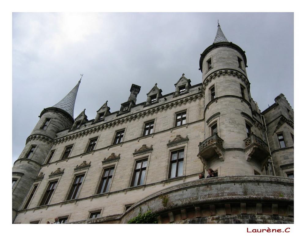 Chateau d'Ecosse, llieu de fauconnerie
