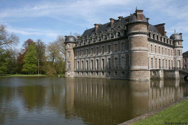 Chateau des Princes de Ligne de Beloeil ( Belgique)