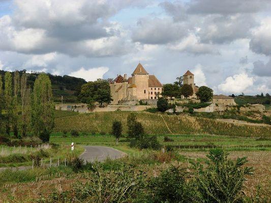 Chateau im Burgund - Frankreich