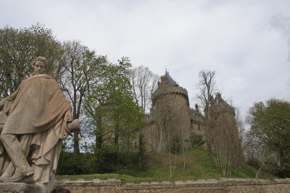 Chateaubriand et le château de Combourg(35)