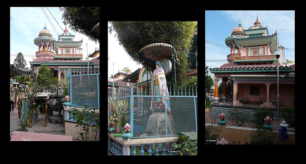 Chau Doc - Buddhistischer-/ Hindutempel