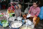 Chau Doc - Garküche auf de Markt