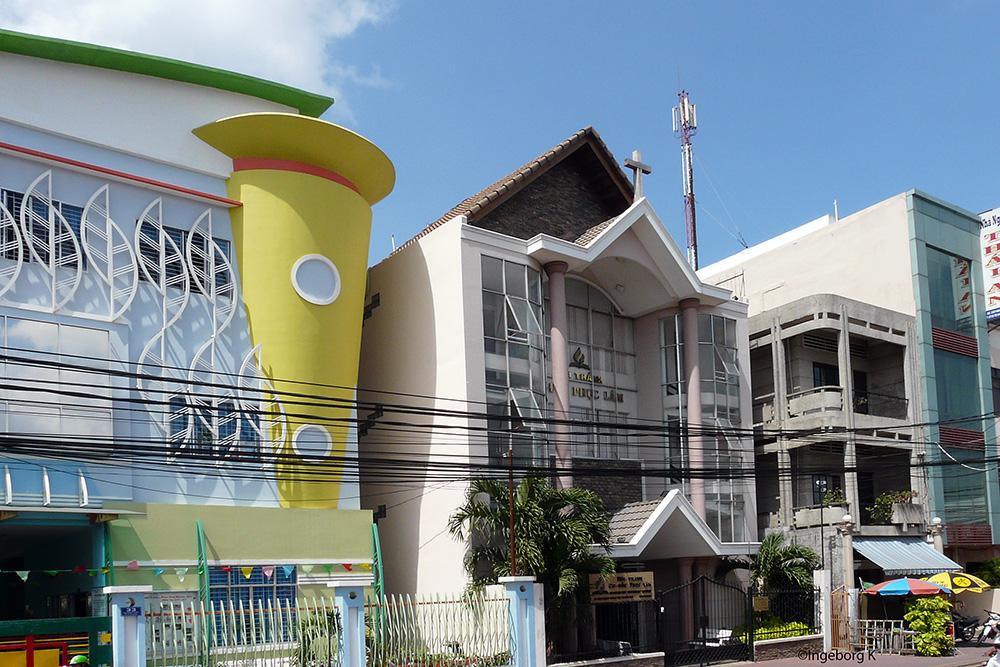 Chau Doc - im Stadtzentrum