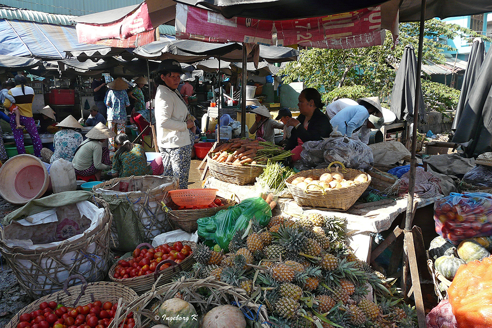 Chau Doc - Markt - 1