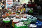 Chau Doc - Markt - 6 - Eier, Krabben und Fisch