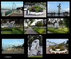 Chau Doc - Promenade am Hau Giang - einem Arm des Mekong