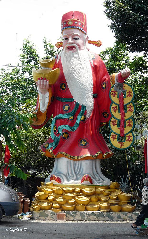Chau Doc - Weihnachtsmann oder wer kennt die Bedeutung