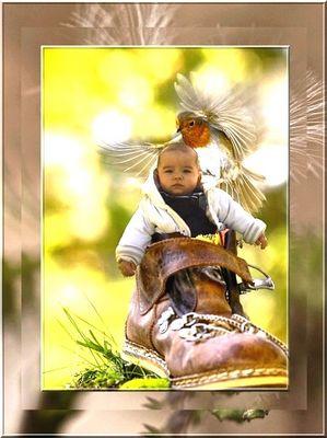 Chaussure à son pieds