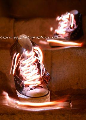 chaussures fantôme