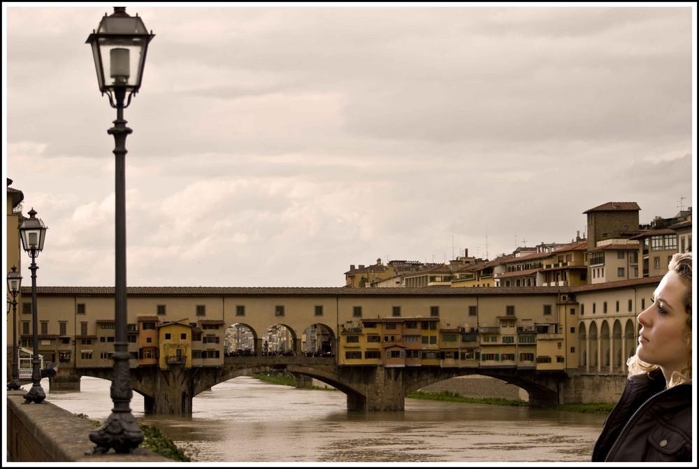 Che bello guardare Firenze...................