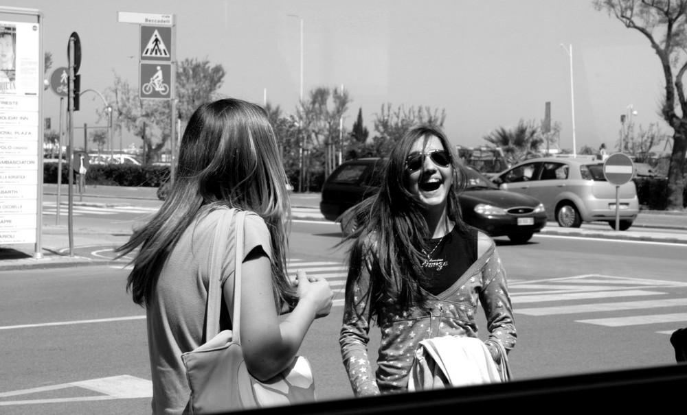 Che risata spontanea