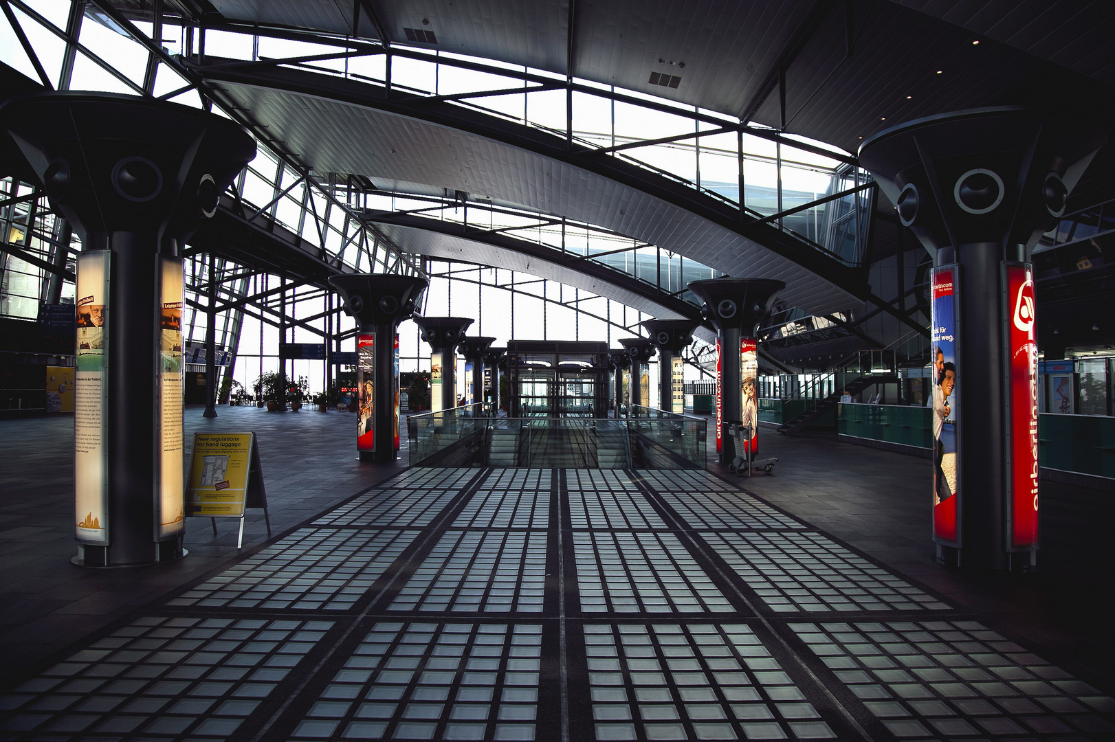 check out - Flughafen Leipzig/Halle