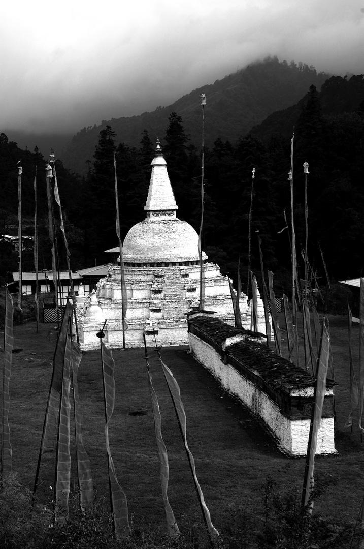 Chedi in Bhutan