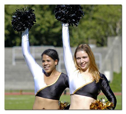 Cheerleader der Munich Cowboys