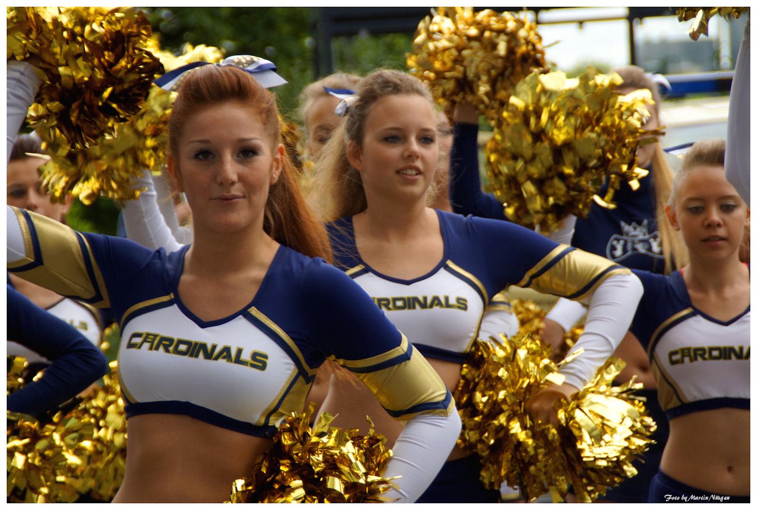 Cheerleaders 2014 in Essen