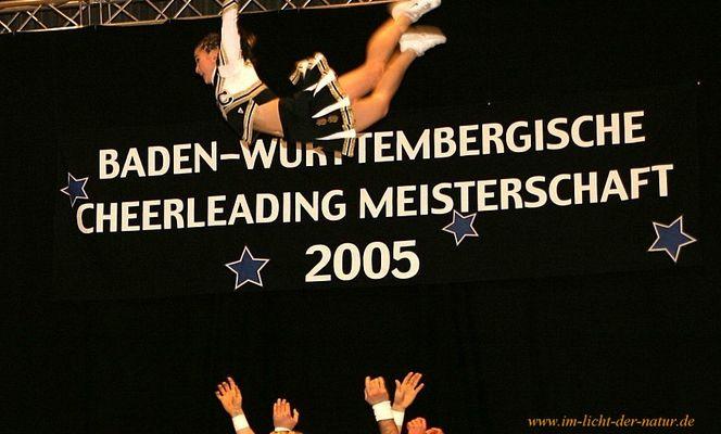 Cheerleading - die GOLDEN PAWS aus Karlsruhe