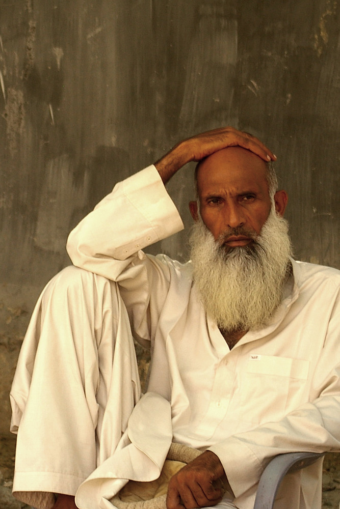 Chef de tribu au Kohistan (Pakistan)